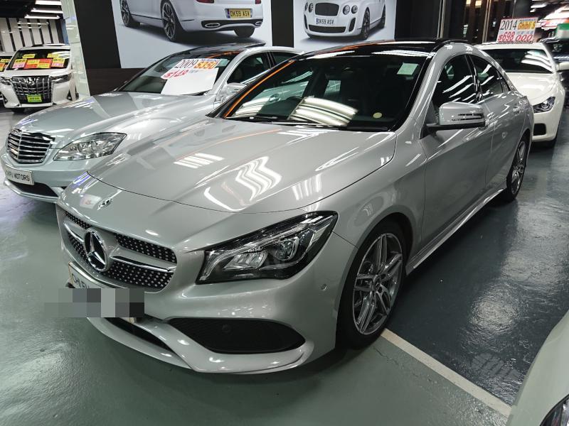 2017 Mercedes Benz CLA250