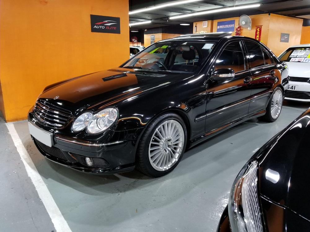 2004 Mercedes Benz C55