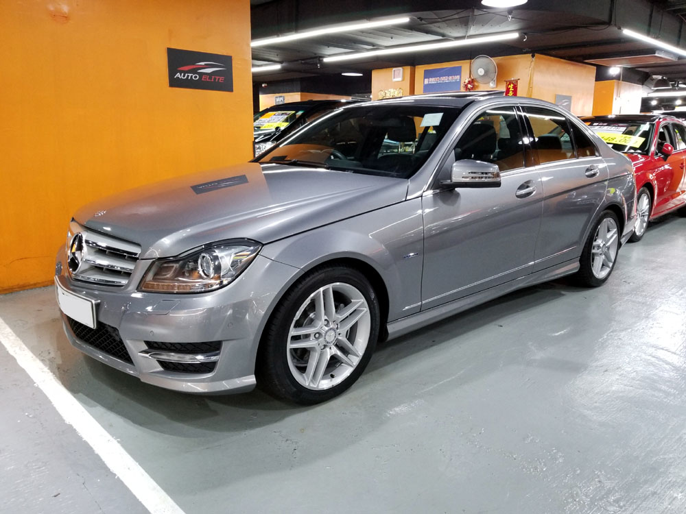 2012 Mercedes Benz C200