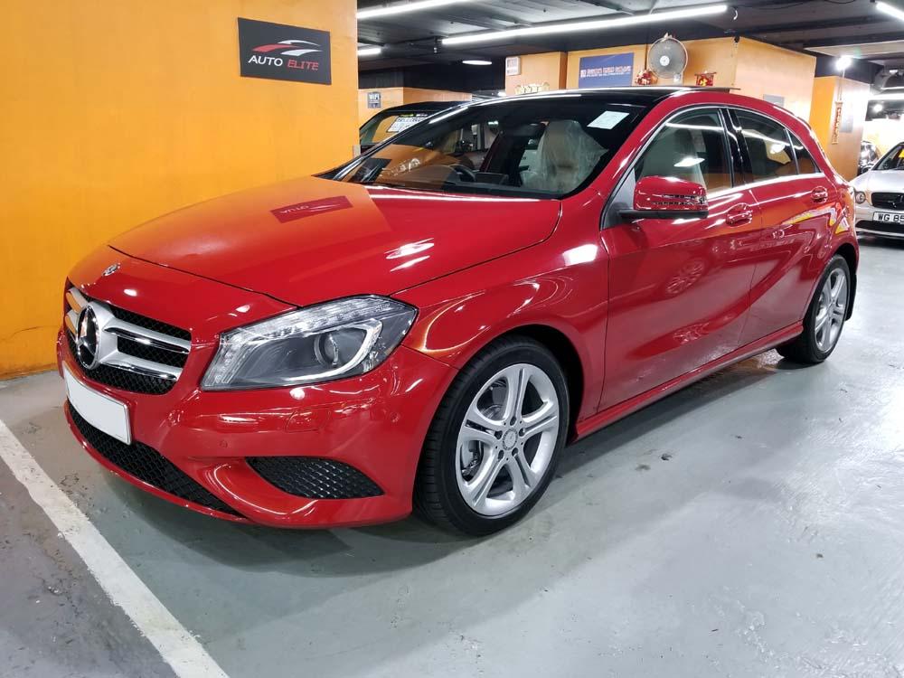 2014 Mercedes Benz A200