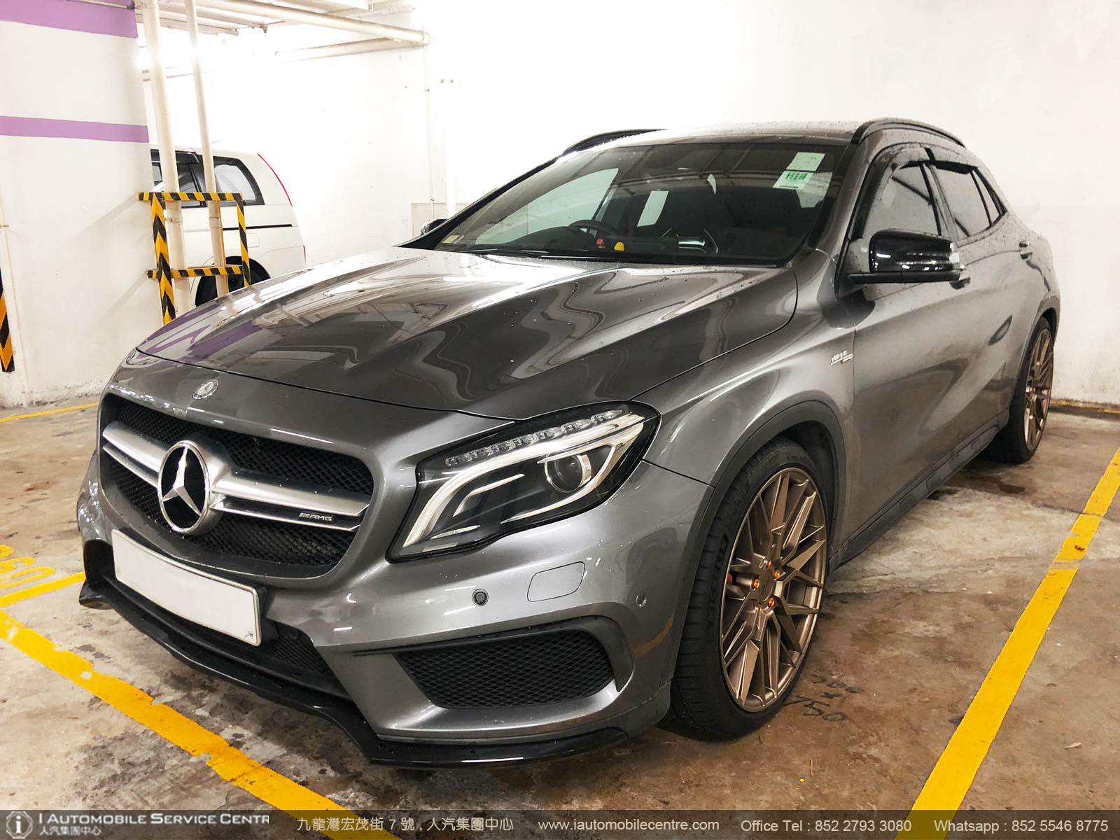 2014 Mercedes Benz GLA45