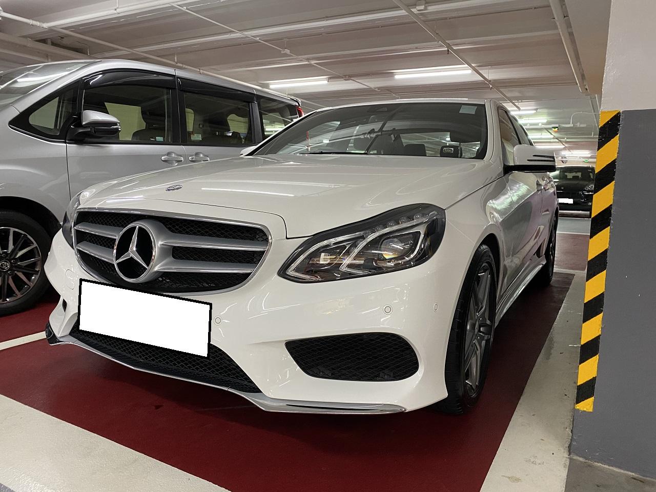 2015 Mercedes Benz E200